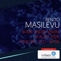 L'essai de Benito Masilevu face à Toulon, saison 2020-2021