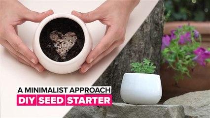 A Minimalist Approach: DIY Seed Starter