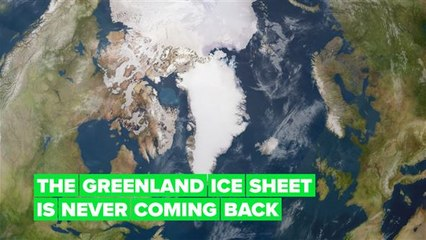 The Greenland Ice Sheet has reached the point of no return