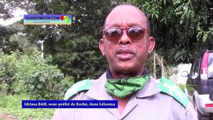 Korbé (Lélouma) : le sous-préfet regrette le manque de ressources humaines à la commune rurale