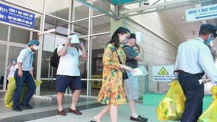 Đà Nẵng: 23 bệnh nhân Covid-19 ra viện cùng lúc   VTC