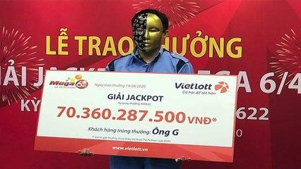 9x trúng Vietlott 70 tỷ đem tiền đi làm từ thiện    VTC