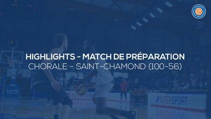2020/21 Highlights Chorale - Saint-Chamond (100-56)