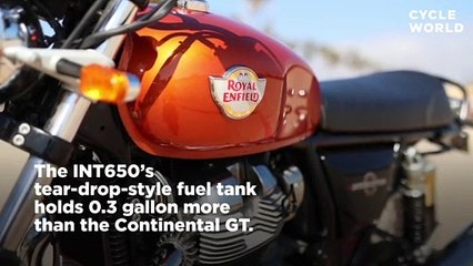 2019 Royal Enfield INT650 First Ride