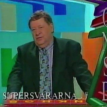 Trailer för TV2 på onsdag, tisdag 18 maj 1993