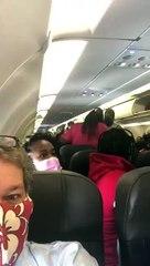 Dos mujeres se lían a «tortazos» en un vuelo de American Airlines