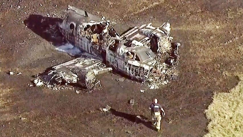 Un avion détruit par les flammes dans un aéroport de l'Illinois