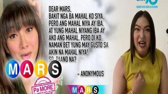 Mars Pa More:  Mahal ko o mahal ako | Dear Mars