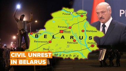 Belarusians are demanding that their president resigns
