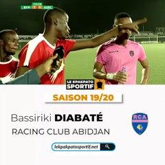 Bassiriki Diabaté, Coach de la saison 2019 - 2020
