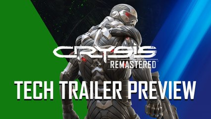 Crysis Remastered - Tech Trailer Preview (2020) 4K