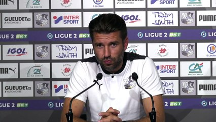 Amiens SC - AS Nancy / Conférence de presse  Luka Elsner