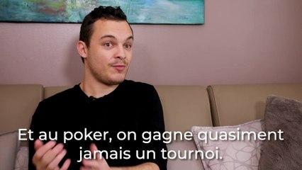 Quentin Lecomte revient sur sa carrière de joueur de poker professionnel