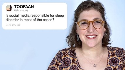 Mayim Bialik Answers Neuroscience Questions From Twitter