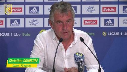 Bordeaux - FC Nantes : la réaction de Christian Gourcuff