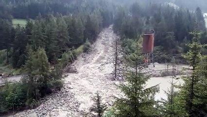 Murenabgang im Ötztal