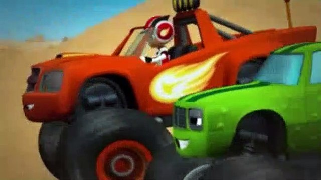 Blaze and the Monster Machines Season 1 Episode 9 The Team Truck Challenge