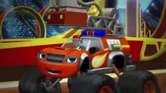 Blaze and the Monster Machines Season 2 Episode 11 Five Alarm Blaze