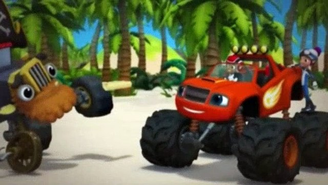 Blaze and the Monster Machines Season 2 Episode 13 Treasure Track