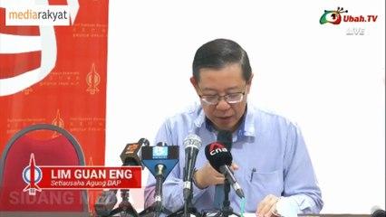 Lim Guan Eng: Mengapa Tiada Tindakan Diambil Terhadap Timbalan Menteri Pertahanan Menulis Surat Sokongan Untuk Melantik Anak Sendiri Sebagai Ahli Lembaga Pengarah Pharmaniaga?