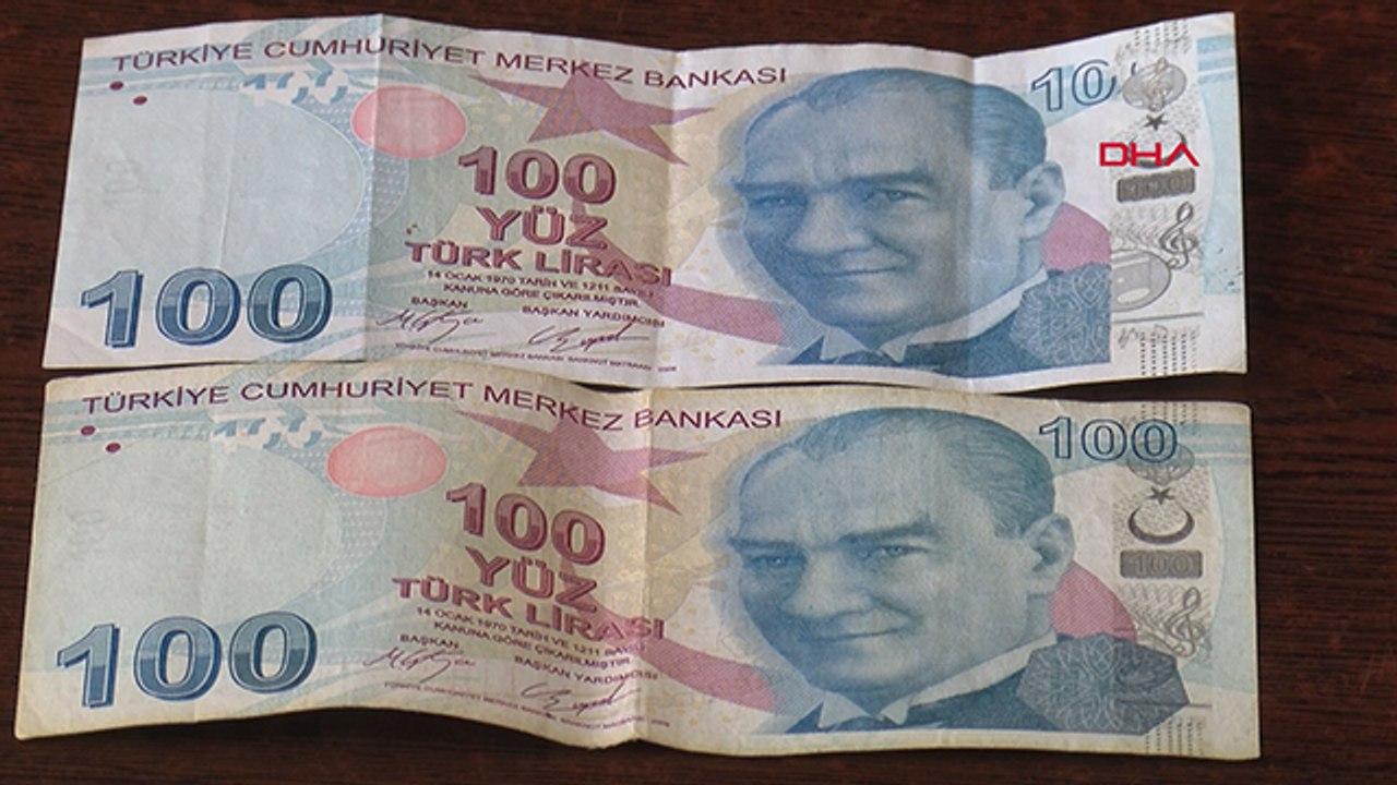 Hatalı banknotu, 150 bin TL'ye satıyor   Sözcü TV