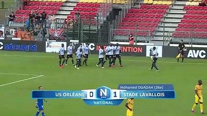 J1 Us Orléans – Stade Lavallois (0-1)