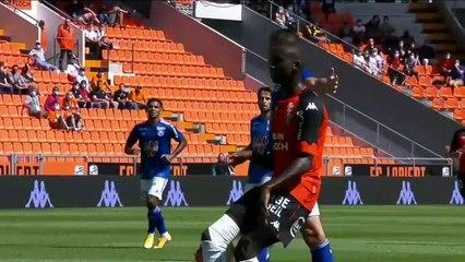 Le résumé de la rencontre FC Lorient - RC Strasbourg (3-1) 20-21