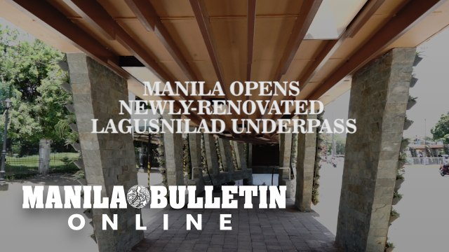Manila opens newly-renovated Lagusnilad underpass