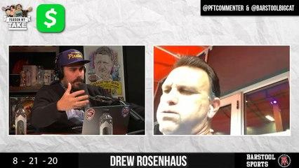 PMT: Drew Rosenhaus, Washington Football Team President Jason Wright And Thom Brennaman Does A Call