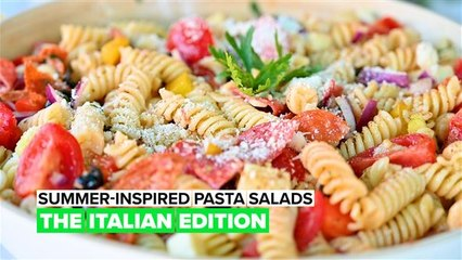 Summer-Inspired Pasta Salads: The Italian Edition