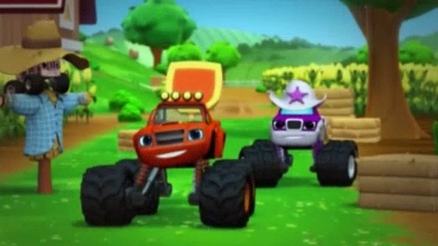 Blaze and the Monster Machines Season 1 Episode 11 Truckball Teamup