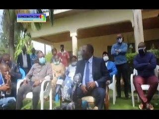 Retour de Sidya Touré à Conakry