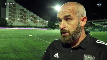 """Mathieu Chabert : """"Tout le monde est à féliciter"""" (RSFC 3-5 SCB)"""