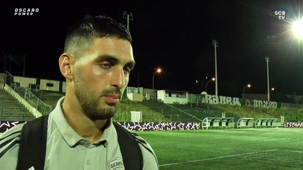 "Sébastien Da Silva : ""Longtemps que j'attendais de marquer pour le Sporting"" (RSFC 3-5 SCB)"