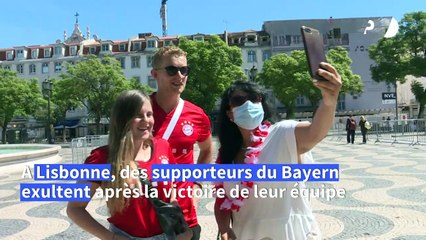 "Football/Ligue des champions: ""c'était incroyable"" racontent supporters du Bayern"