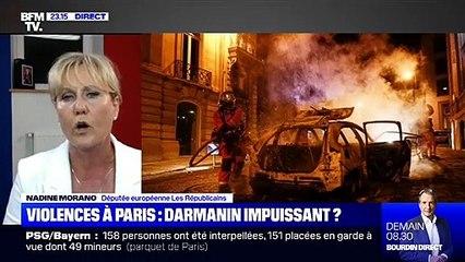 """""""Vous êtes journaliste ou procureur ?"""" : Passe d'armes entre Nadine Morano et Maxime Switek sur BFMTV"""