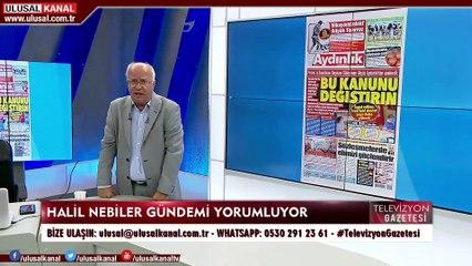 Televizyon Gazetesi -25 Ağustos 2020 - Halil Nebiler - Meltem Ayvalı - İlyas Gümrükçü - Ulusal Kanal