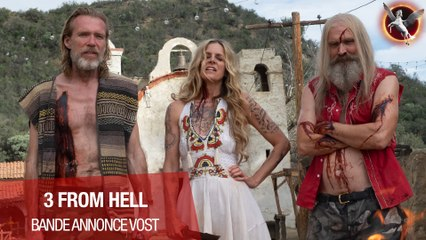 3 FROM HELL - BANDE ANNONCE VOST - Le 15 septembre en Blu-Ray, DVD et VOD !
