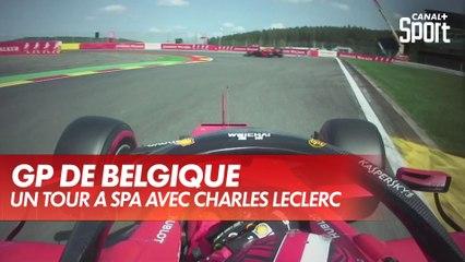Un tour onboard à Spa avec Charles Leclerc