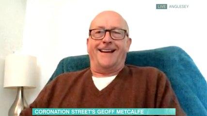 Geoff Metcalfe This Morning Coronation Street