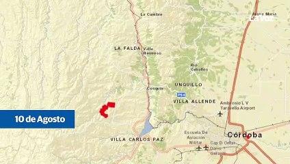 Así se multiplicaron los incendios en Córdoba en los últimos días