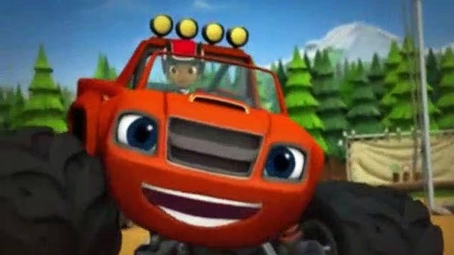 Blaze and the Monster Machines Season 1 Episode 14 Truck Rangers