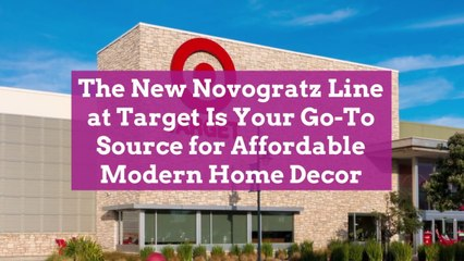The New Novogratz Line at Target Is Your Go-To Source for Affordable Modern Home Decor