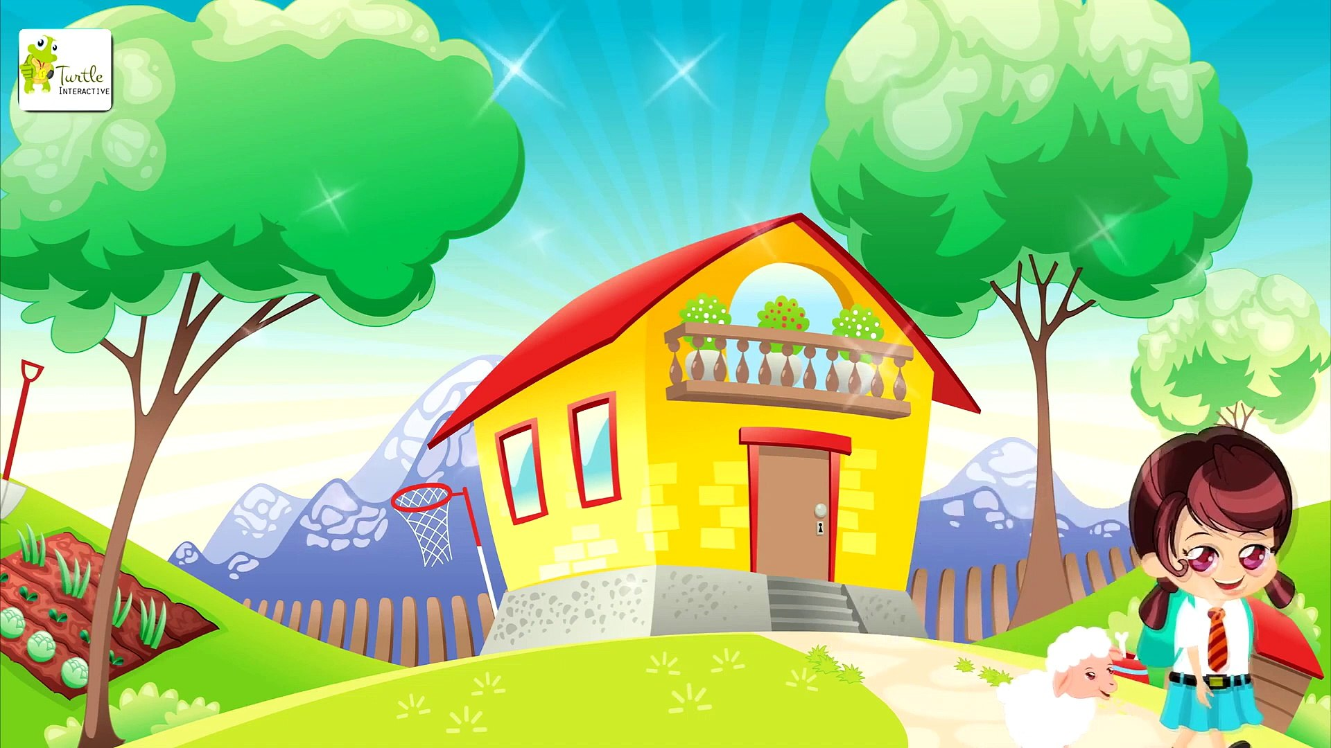 Mary Had A Little Lamb - Nursery Rhymes for Kids - Songs for Kids - Education Park