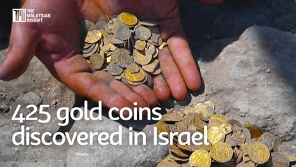 425 gold coins from early Islamic civilisation discovered in Israel