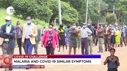 Malaria and Covid-19 similar symptoms