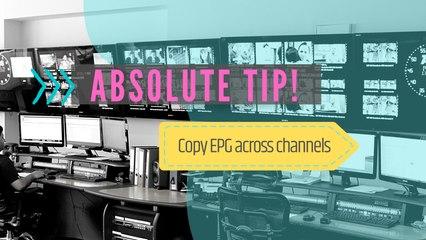 Copy EPG Across Channels