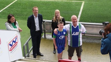 We need fans to help save Wigan Athletic, says Jonathan Jackson