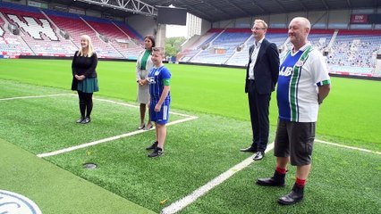 Lisa Nandy appeals to fans to help out Latics