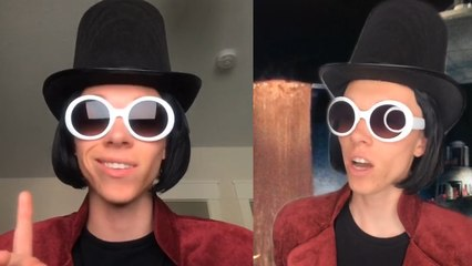 Willy Wonka Impersonator Is Taking Over TikTok